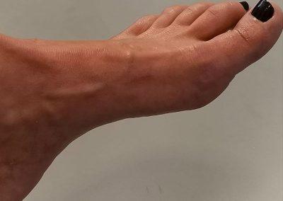 Erholte Füße