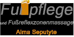 Logo Alma´s Fußpflege