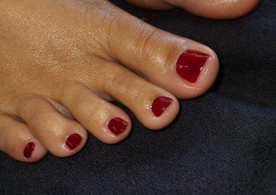 Wieder gepflegte Füße und schöne Fußnägel