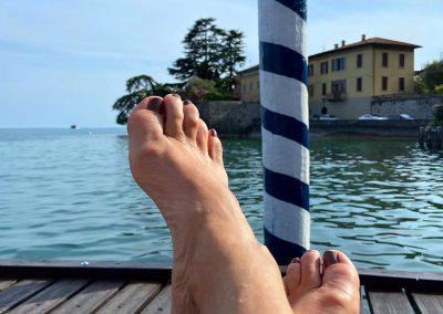 Schöne Füße im Urlaub